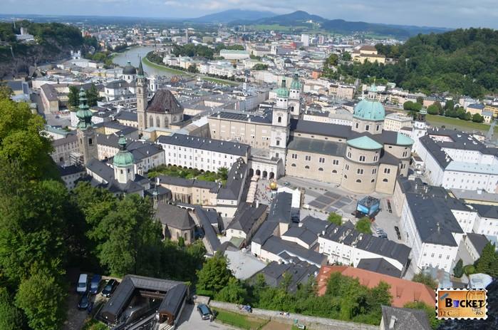 Salzburg Bird Eye View