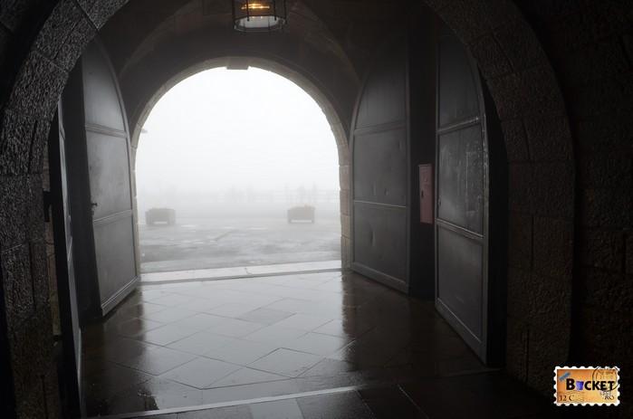 Poarta tunelului spre Cuibul de vulturi a lui Hitler - Eagle's Nest.