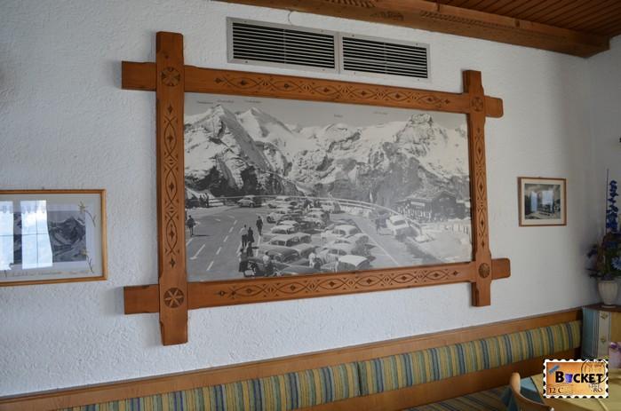 cabana Edelweißhütte de pe vârful Edelweiss Grossglockner