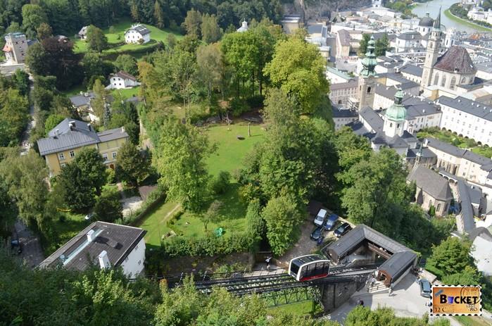 funicular spre Hohensalzburg