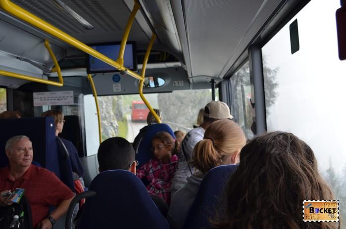 Autobuz spre Kehlsteinhaus - Cuibul de vulturi a lui Hitler Eagle's Nest