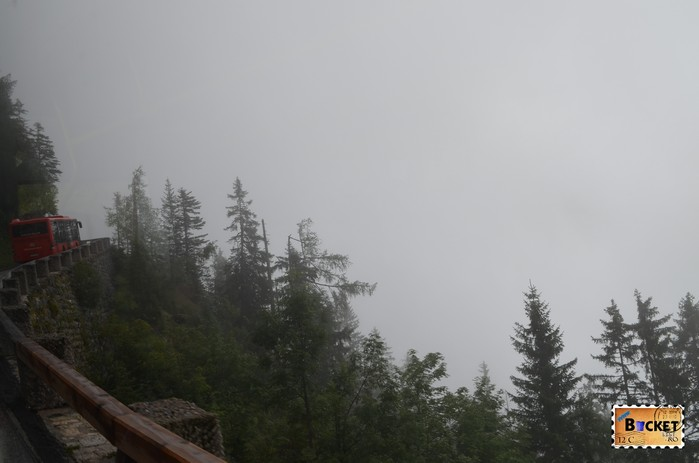 ceata spre Kehlsteinhaus - Cuibul de vulturi a lui Hitler Eagle's Nest
