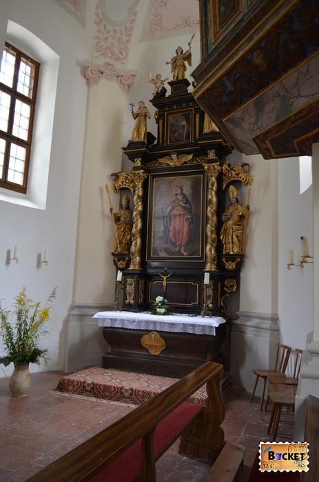 mănăstirea Sf. Bartolomeu (St. Bartholomä) interior