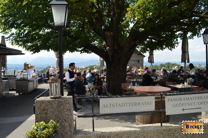 Altstadtterrasse Hohensalzburg