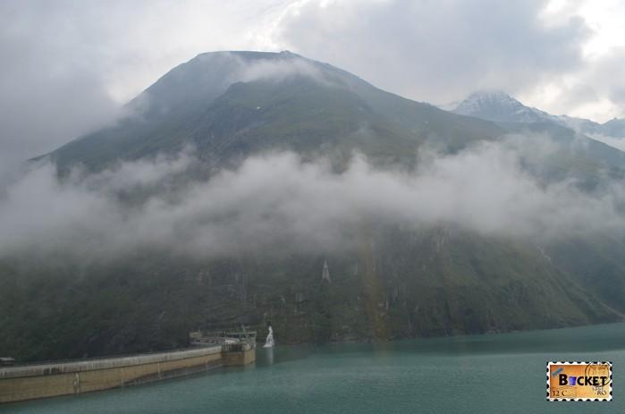 Barajele de la Kaprun - Mooserboden