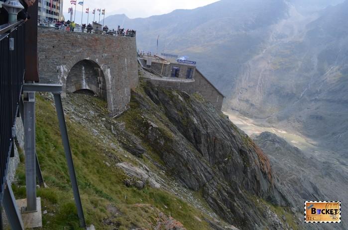 Gletscherbahn Grossglockner - funicular spre ghetarul Pasterze