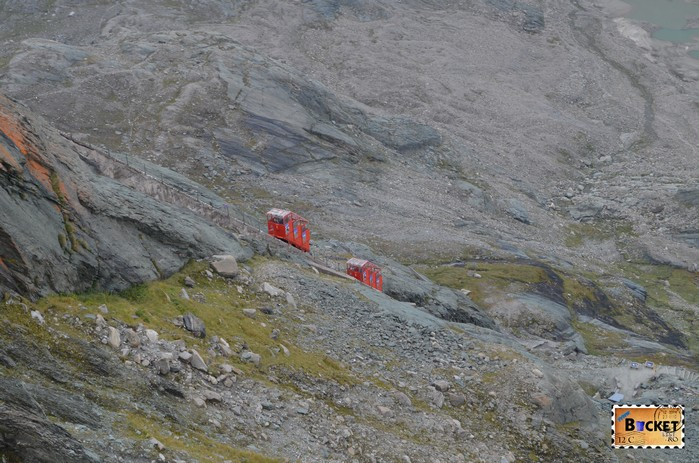 Grossglockner Gletscherbahn - funicular spre ghetarul Pasterze