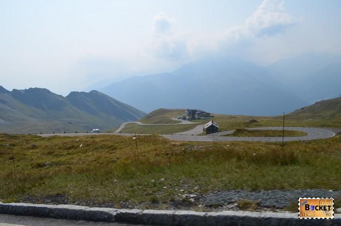 Grossglockner High Alpine Road from Fuscher Törl to Heiligenblut