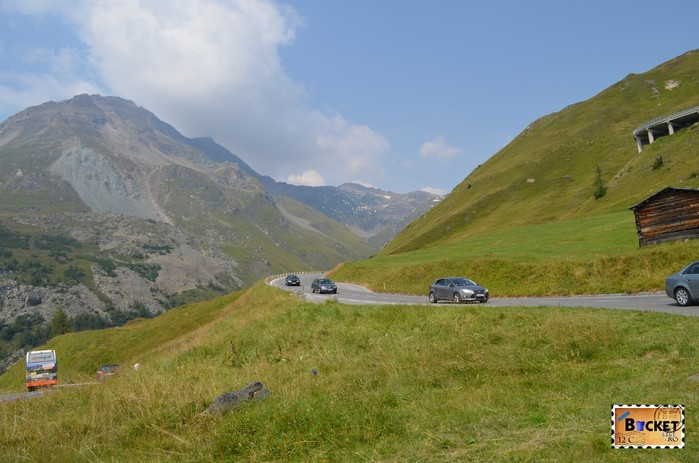 Grossglockner High Alpine Road from Fuscher Törl to Heiligenblut