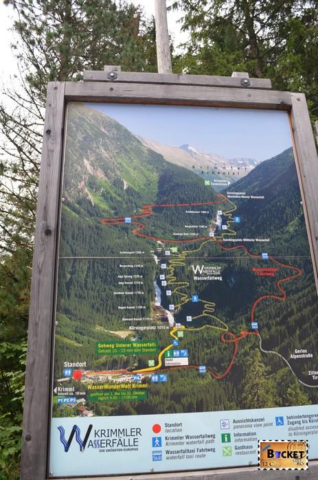 Harta pentru cascada