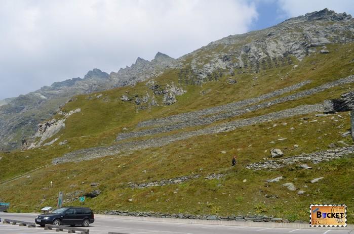 Panoramaweg Kaiserstein spre  Kaiser Frany Josefs Hohe - Grossglockner