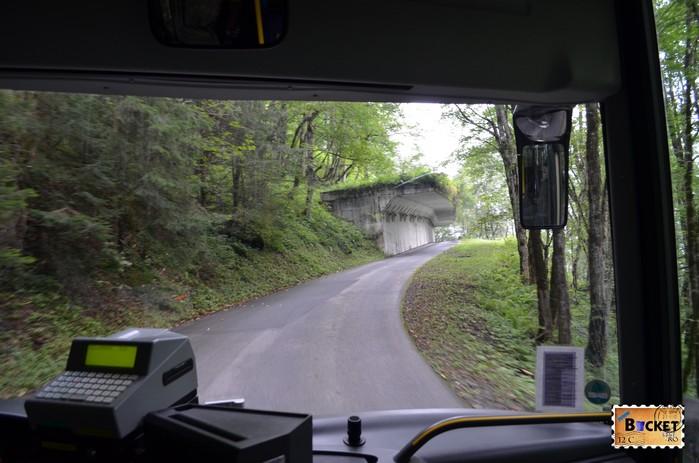 drum spre barajele de la Kaprun - Road to Alpine Reservoirs in Kaprun.jpg