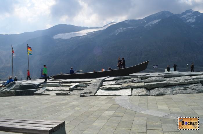 parcarea Nationalpark - Platz de pe drumul alpin Grossglockner