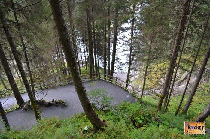 pe traseul de la cascada Krimmler