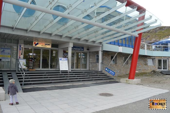 Alpin Center Kaprun spre Kitsteinhorn