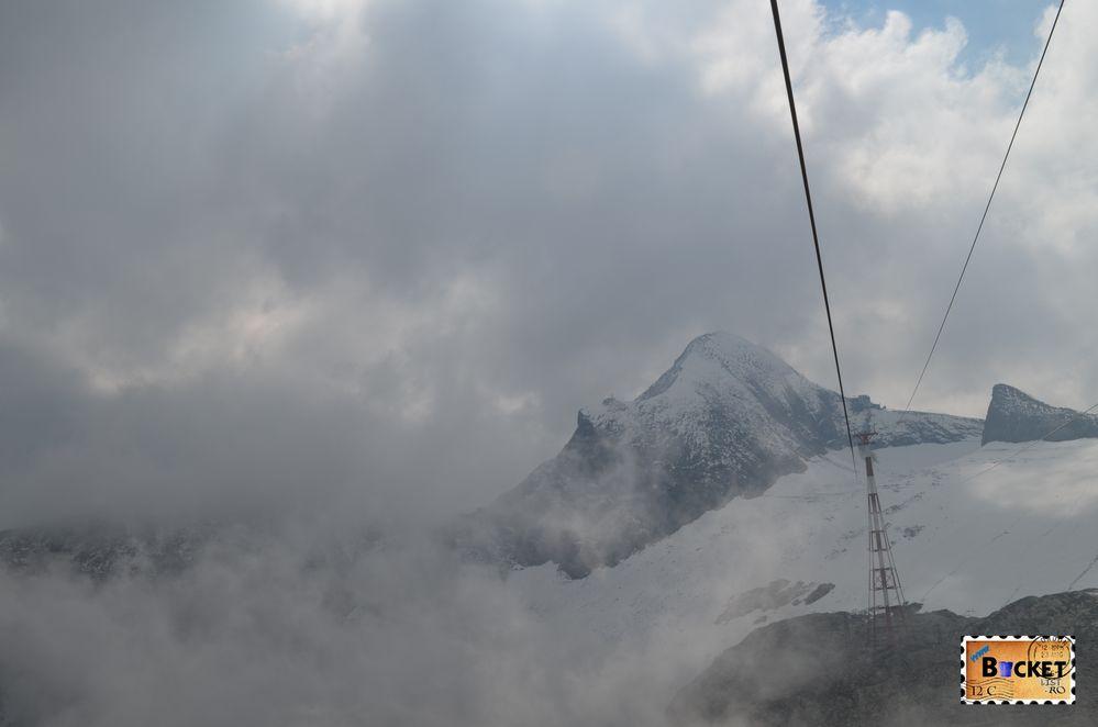 Cel mai mare pilon de telecabina din lume - Kitzsteinhorn