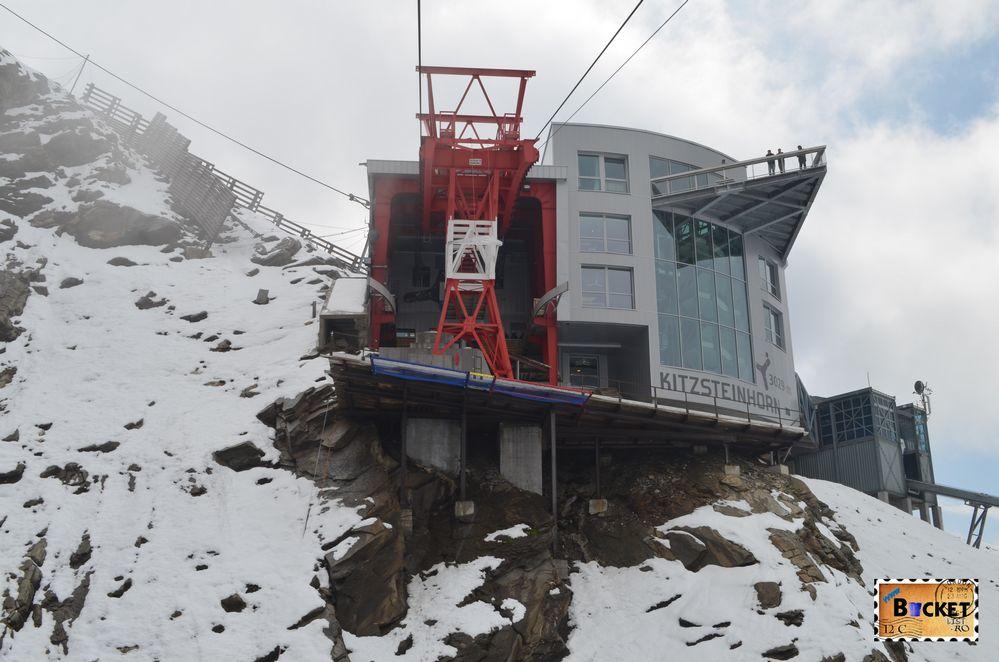 Gipfelstation  şi cu platforma Top of Salzburg