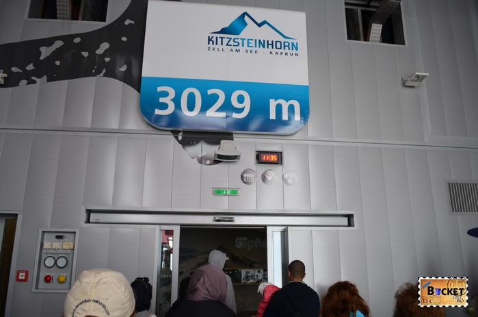 In telecabina de la Gipfelbahn