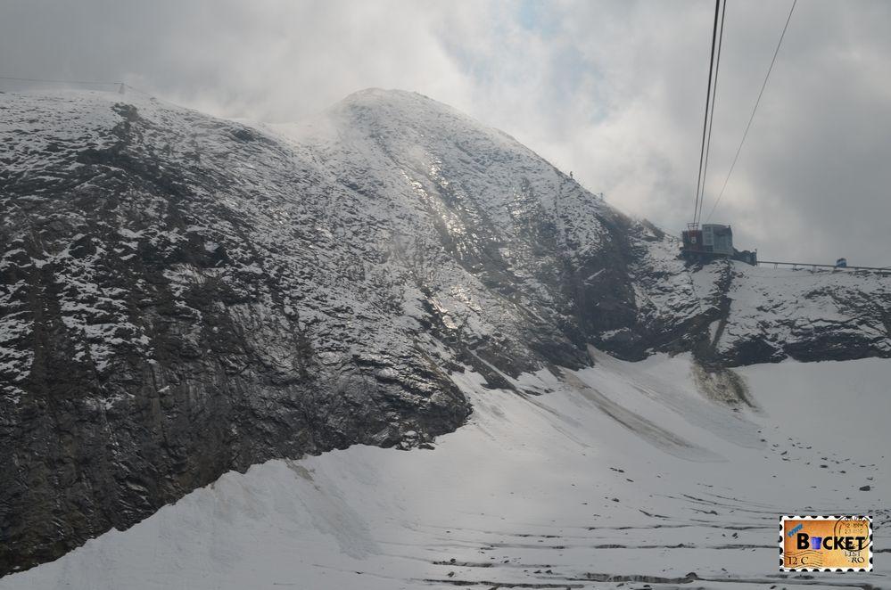 Kitzsteinhorn si Gipfelstation