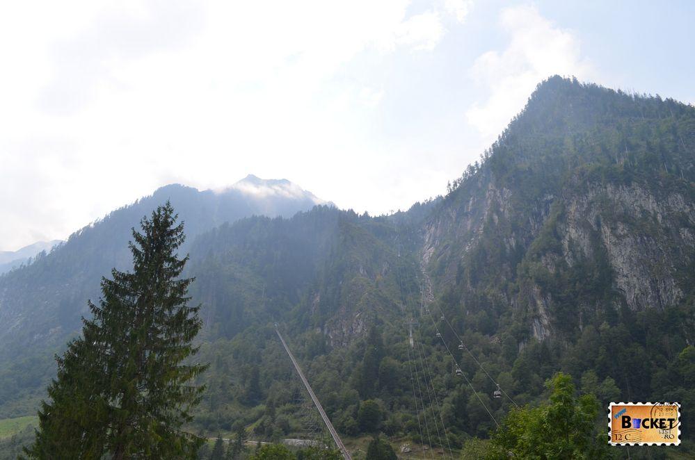 La plecare de pe Kitzsteinhorn