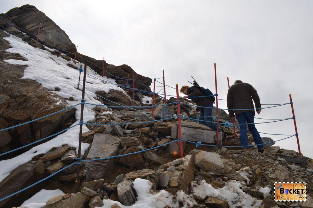 Spre Gipfelwelt 3000 pe marginea prapastiei