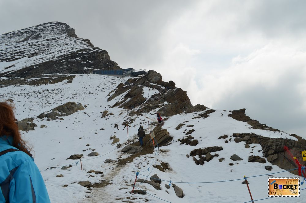 Spre Gipfelwelt 3000 - platformele Glocknerkanzel și Hocheiserblick