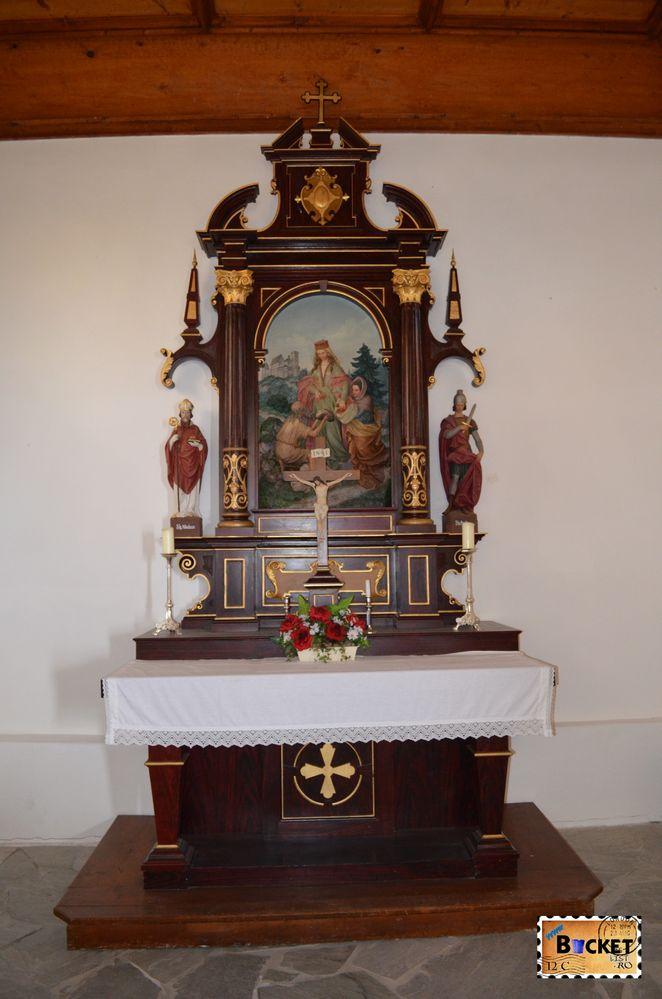 altar capela Elisabeta -Elisabeth chapel Schmittenhohe