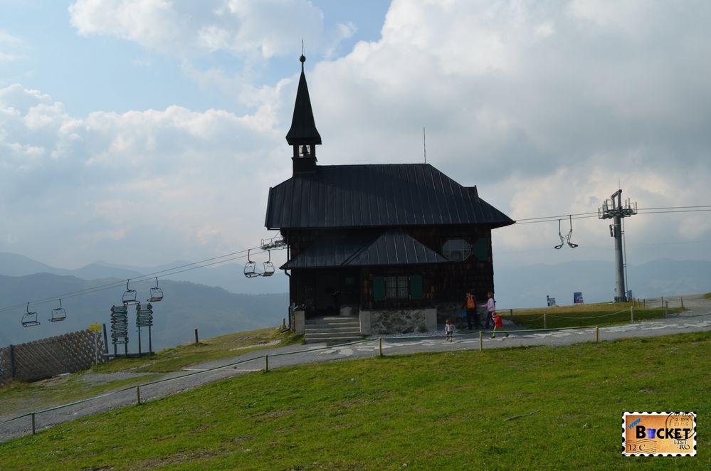 capela Elisabeta -Elisabeth chapel Schmittenhohe