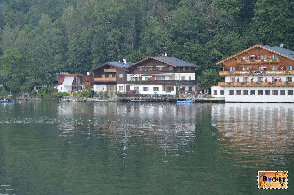 cartierul Thumersbach de langa lacul Zell