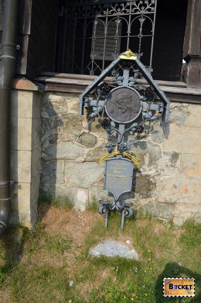 mormant la capela Elisabeta - Elisabeth chapel Schmittenhohe
