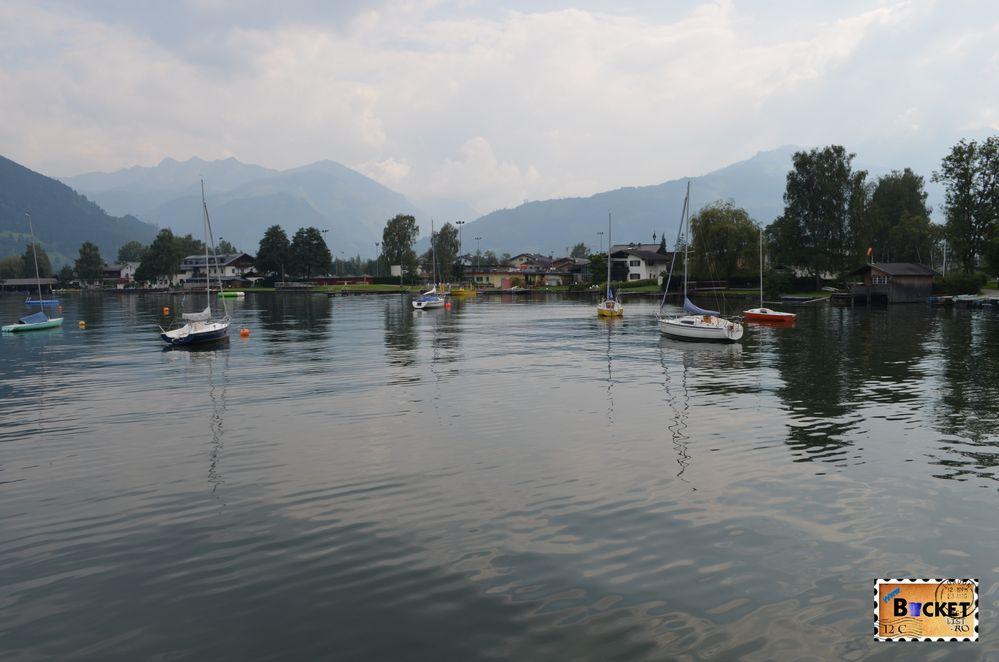 partea de sud a lacului, spre cartierul Schüttdorf