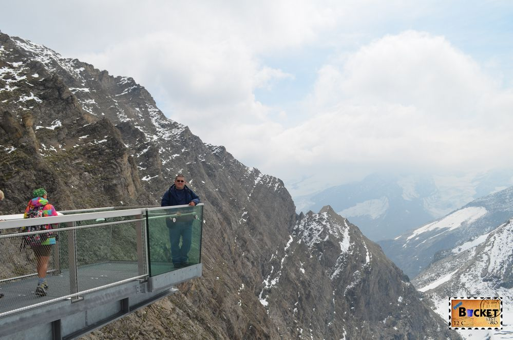 platforma Glocknerkanzel -Gipfelwelt de pe Kitzsteinhorn