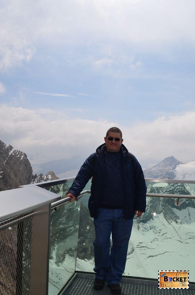 platforma Glocknerkanzel - Gipfelwelt de pe Kitzsteinhorn