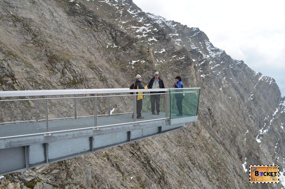 platforma Glocknerkanzel de la Gipfelwelt