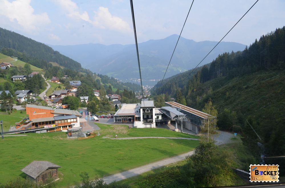 statia de jos pentru telecabina Schmittenhöhebahn