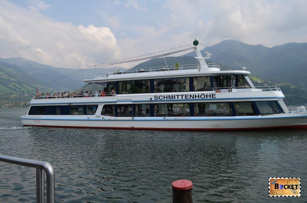 vasul MS Schmittenhoehe de pe lacul Zell din Zell am See Austria