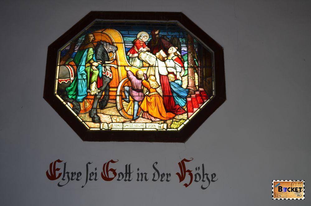 vitralii capela Elisabeta -Elisabeth chapel Schmittenhohe