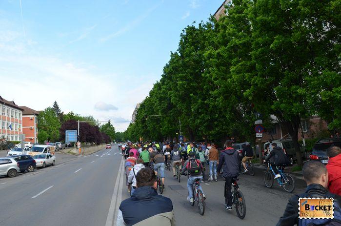 Critical Mass Oradea 2014 Bulevardul Dacia