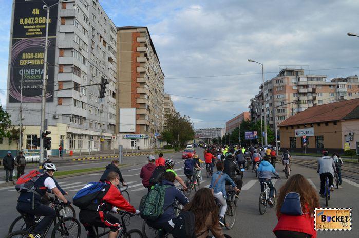 Critical Mass Oradea 2014 Centrul Civic