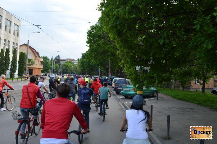 Critical Mass Oradea 2014 Bulevardul Transilvaniei