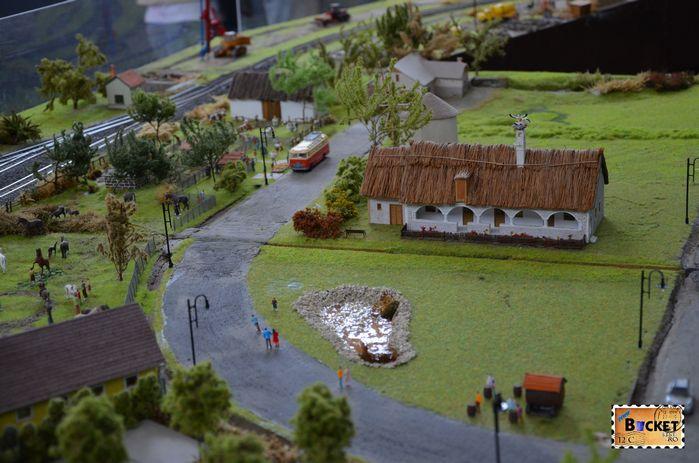 Diorama în miniatură la Oradea