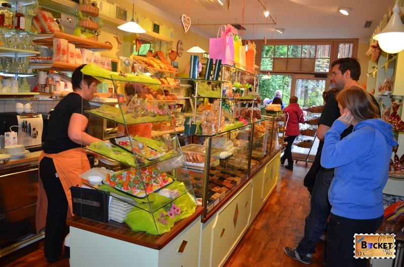 Cafenea Maislinger din Hallstatt;
