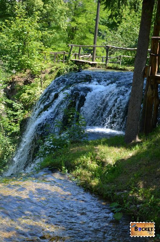 Cascada Slap Hrvoje din Slovin Unique Rastoke