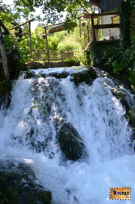 Cascada din Slovin Unique Rastoke