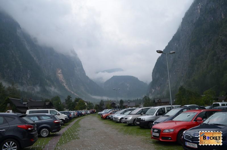 Parcare pentru Hallstatt - in Lahn-  foarte aproape de Marktplatz .jpg