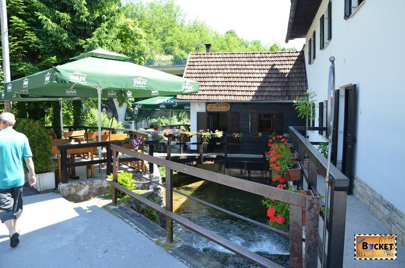 cafe bar Vodena Ovca din Slunj Rastoke