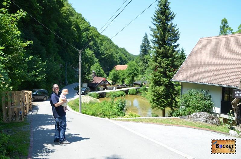 drum spre taverna Petro din Slunj - Konoba Petro