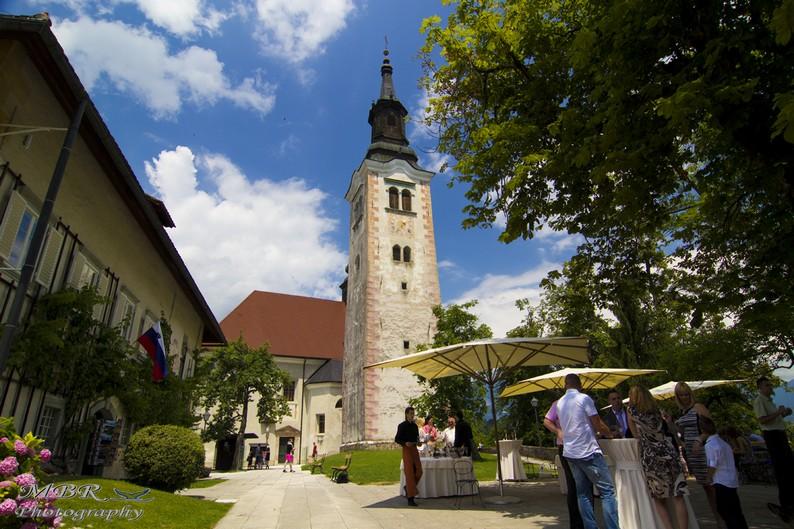 Biserica Sf Maria - lacul Bled Slovenia