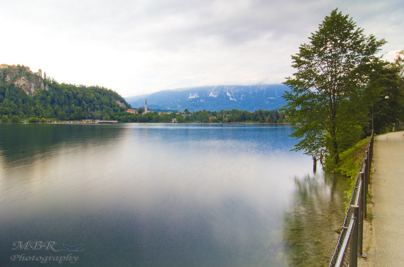 Lacul Bled din Slovenia