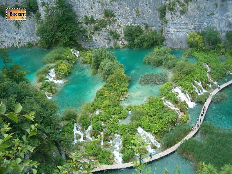Parcul Național Lacurile Plitvice din Croatia